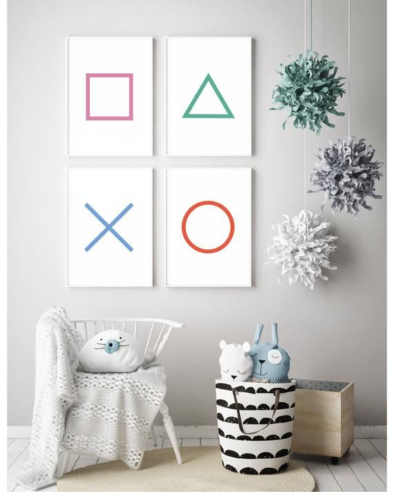 Set of Gaming Prints – PlayStation Prints | Gamer Gifts | Retro Gaming | Gamer Room Decor | Gaming Wall Art | Gaming Anniversary Gift | PS