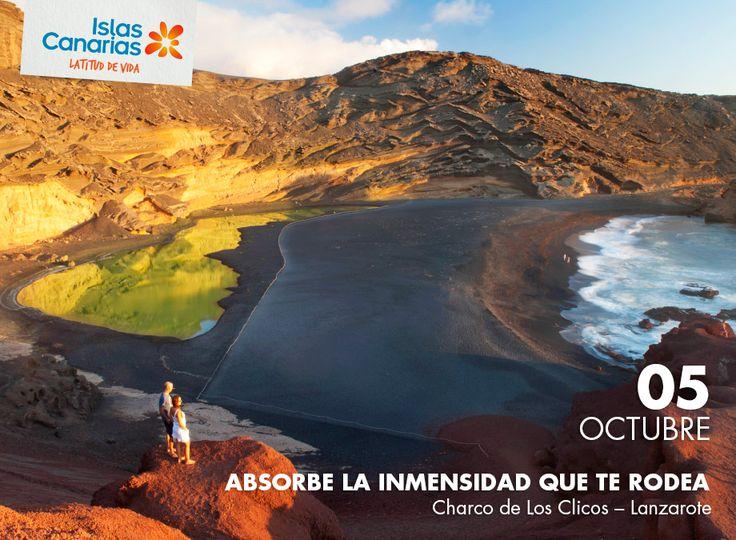 ¿Cómo te sentiras con estas vistas? Ven a #Lanzarote y descúbrelo. | #IslasCanarias365