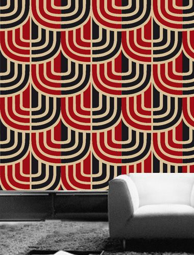 This is BOLD wallpaper! Would you dare? #wallpaper