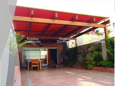 Pérgola madera M3 - Pérgolas Barcelona TE®
