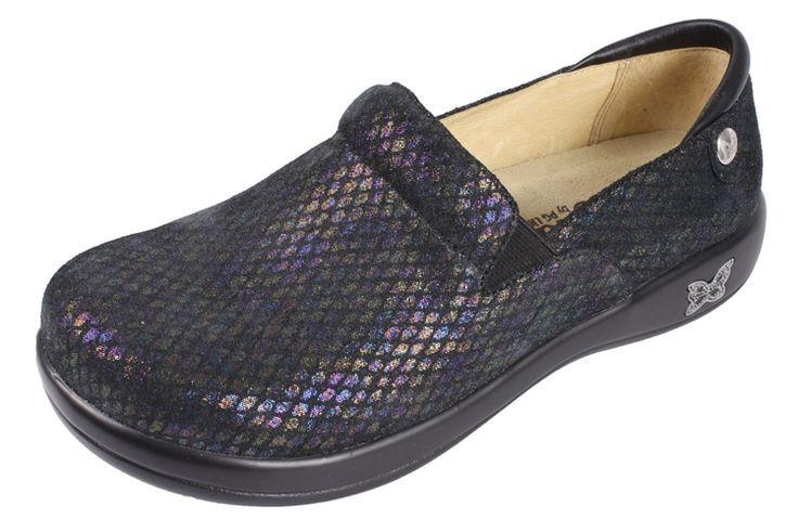 Alegria Harper Shoes Black Patent