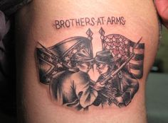 ... flag & tattoos on Pinterest | Rebel flag tattoos Confederate flag and