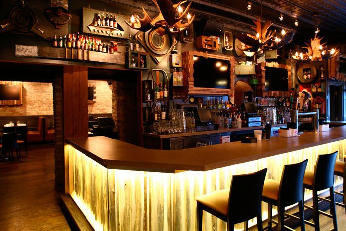 Available for full buyout, Rockit Bar and Grill Wrigleyville can host events for 200. Photo: Courtesy of Rockit Bar and Grill
