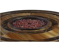 Klaussner Outdoor International Outdoor/Patio Basics Firepit Glass Bean