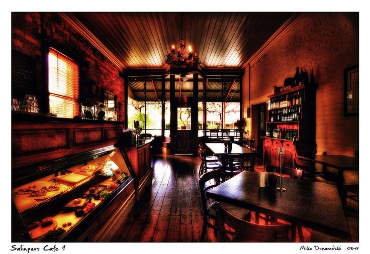 Inside Salingers Cafe (Great Western)