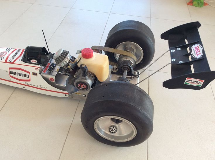Radio controlled top fuel dragster