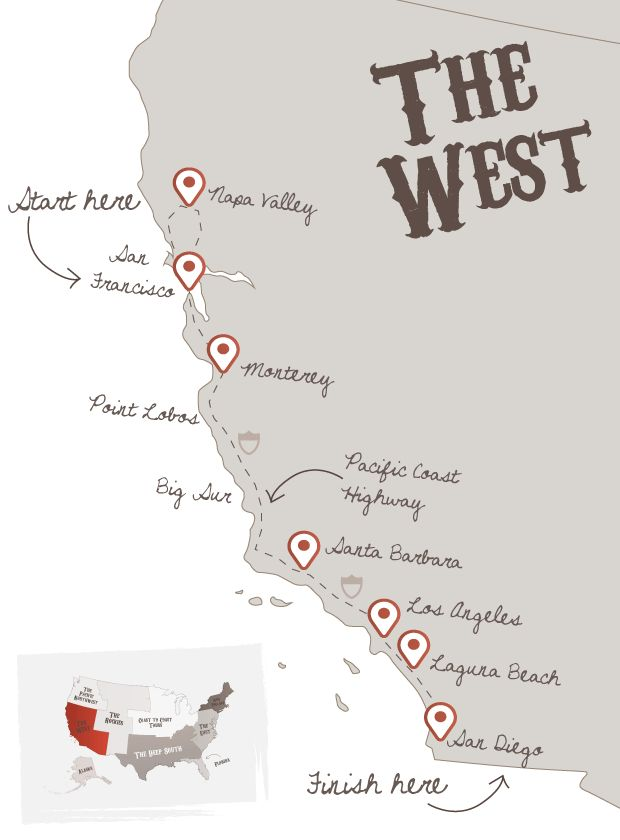 Pacific Coast Highway | The American Road Trip Company
