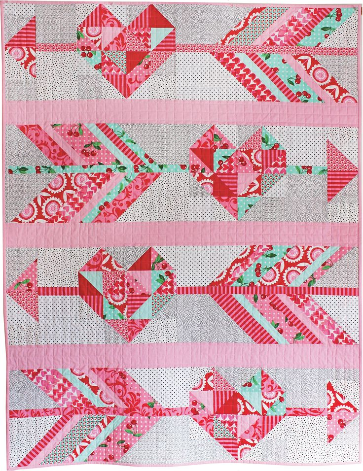 Cupid's Arrow Quilt Pattern