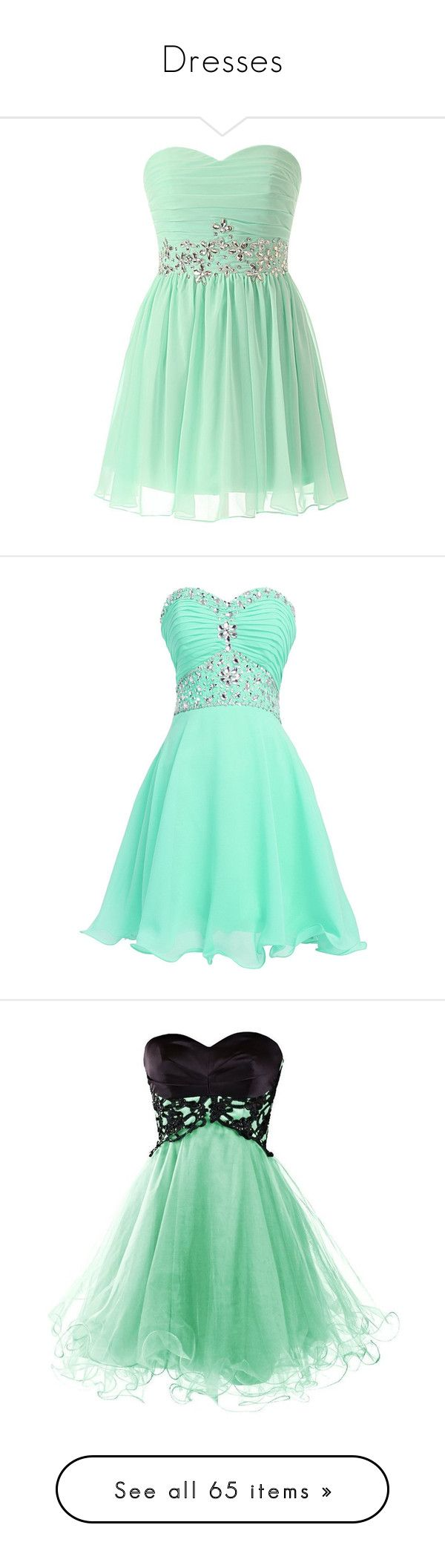 """Dresses"" by tigresslee ❤ liked on Polyvore featuring dresses, vestidos, short beaded dress, mint green dress, plus size mint dress, mint bridesmaid dresses, beaded bridesmaid dresses, short dresses, vestidos curtos and mini dress"