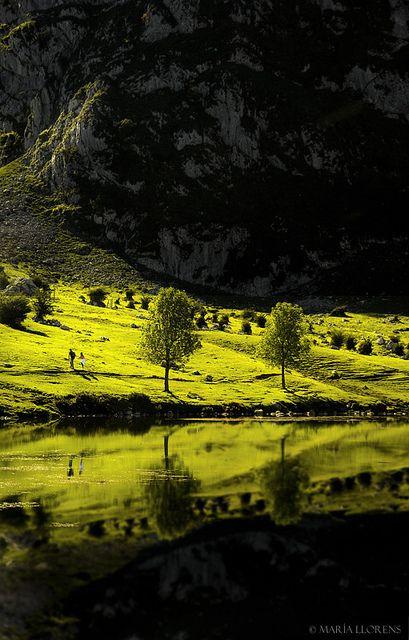 Covadonga lakes, Asturias (North of Spain) by M. Llorens, via Flickr