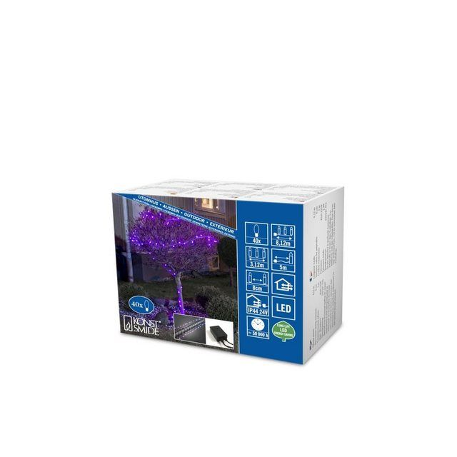 KONSTSMIDE LED Globelichterkette mit Farbwechsel