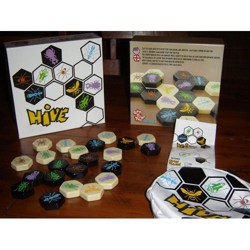 Hive - tile-laying board game