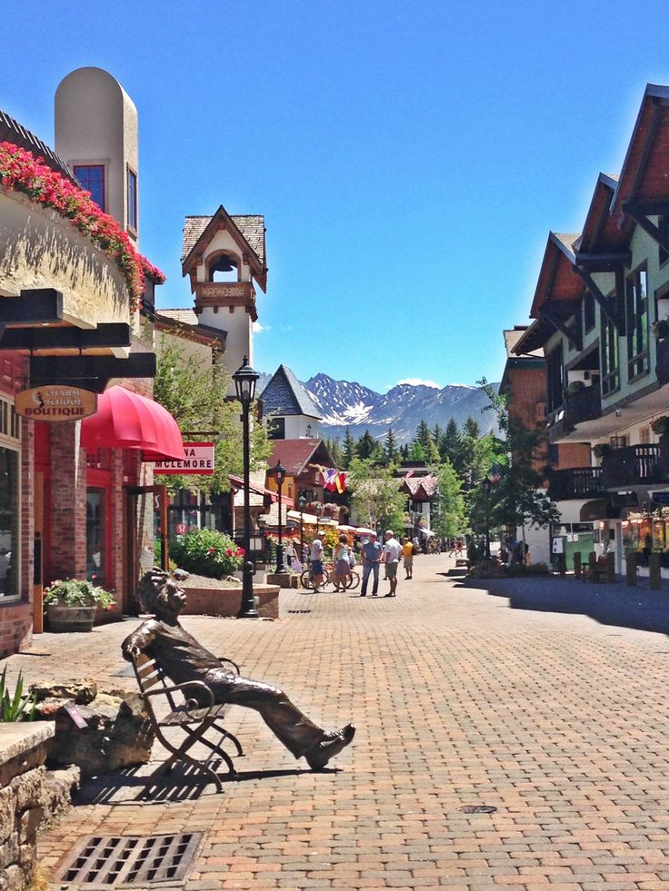 Vail Village, Colorado.  A place that I can visit over and over
