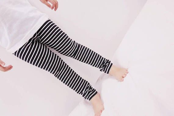 Check out this item in my Etsy shop https://www.etsy.com/uk/listing/548243088/organic-leggings-black-white-stripe-baby
