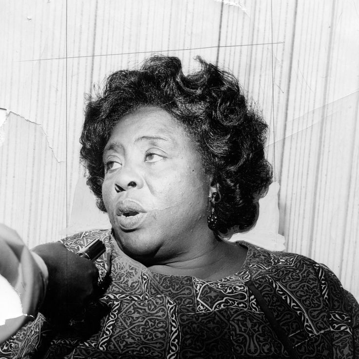 Fannie Lou Hamer was 'sick and tired of being sick and tired,' and she told the…