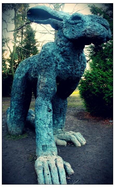 Sophie Ryder - Yorkshire Sculpture Park. Photo Sarah Priest