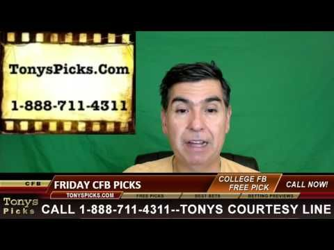 Friday College Football Betting Picks Predictions Odds Point Spreads 11-...