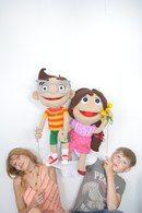 Пит и Пенелопа, театральные куклы