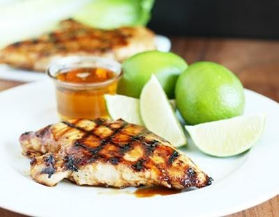 grilled honey lime chicken | Food. Chicken out! | Pinterest