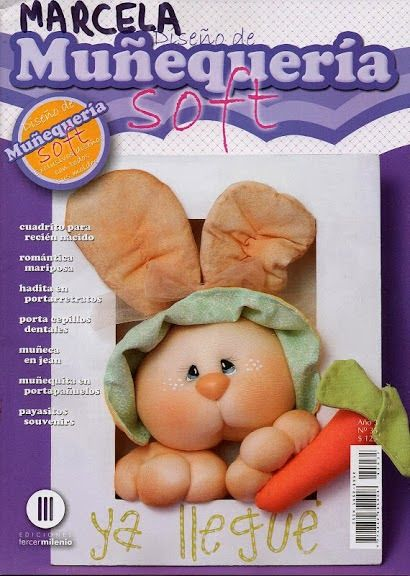 Revistas de manualidades Gratis: Revista para hacer muñecos de tela