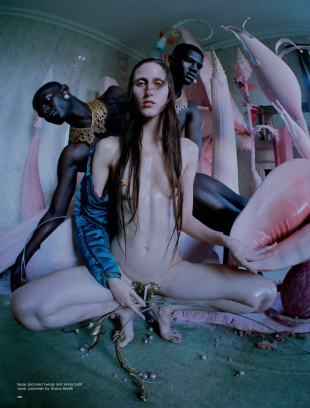 Tim Walker pays tribute to Hieronymus Bosch with an fashion story for Love…