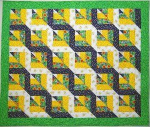 Twisted Rail Fence Quilt Block OOOOOhhhhh!  Love this!