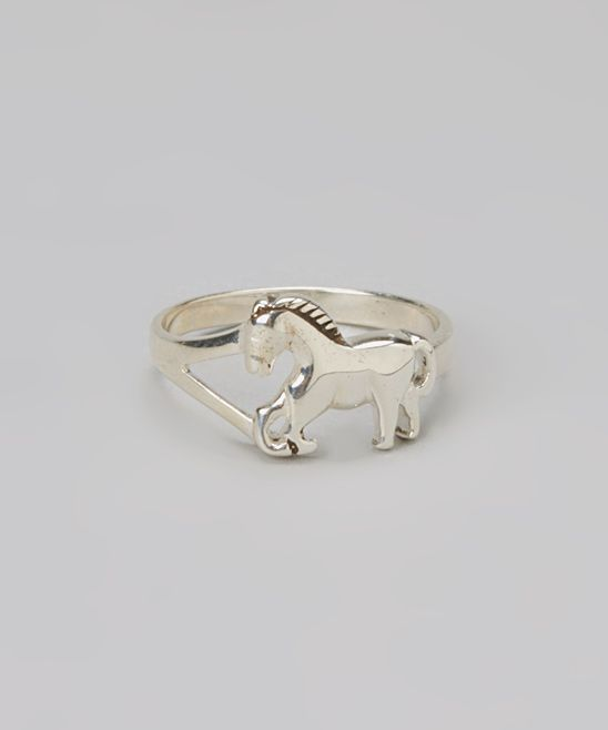 Sterling Silver Horse Ring.