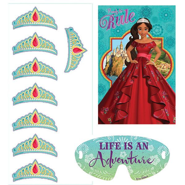 Check out Elena of Avalor Party Game   Elena of Avalor Party Supplies from Birthday in a Box from Birthday In A Box