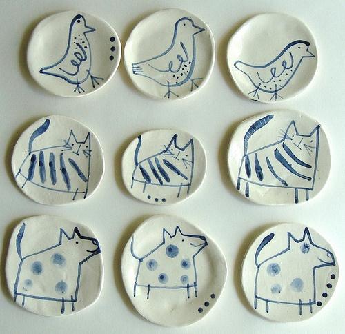 Anthea Carboni - Ceramic plates