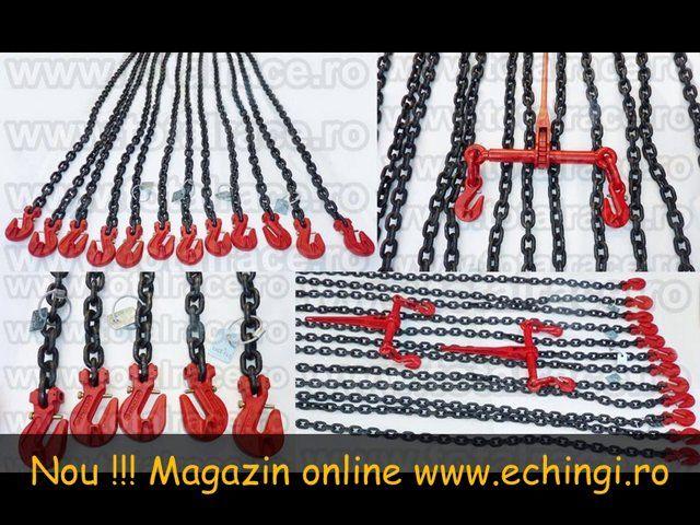 Total Race Romania comercializeaza lanturi de ancorare sistem complet 8 mm Lc = 4000 daN, lanturi de ancorare sistem complet 10 mm Lc = 6300 daN , lanturi de ancorare sistem complet 13 mm Lc = 10000 daN , lanturi de ancorare sistem complet 16 mm Lc = 16000 daN , sisteme din lant de ancorare cu carlige cu siguranta si intinzator de lant cu carlige la capete sau ochi , dispozitive de ancorare complete pentru utilaje , utilaje militare si incarcaturi grele, sisteme de ancorare din lant de ...
