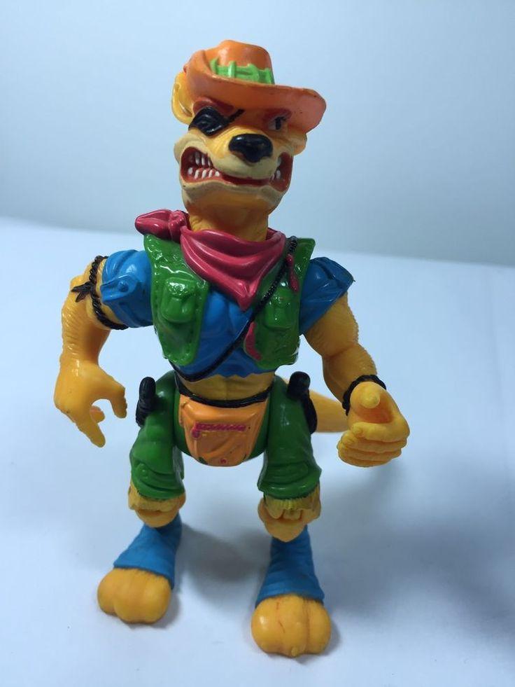 1991 Walkabout Kangaroo Teenage Mutant Ninja Turtles Action Figure TMNT  #MirageStudiosPlaymatesToys