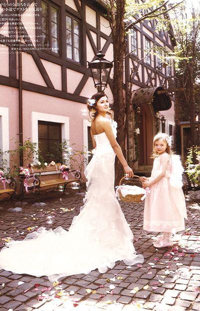 MMD-2084 \150,000  レストラン&ゲストハウスウエディングに紹介して頂きました。  マーメイドドレス、マーメイドラインのメリーマリー Merry Marry