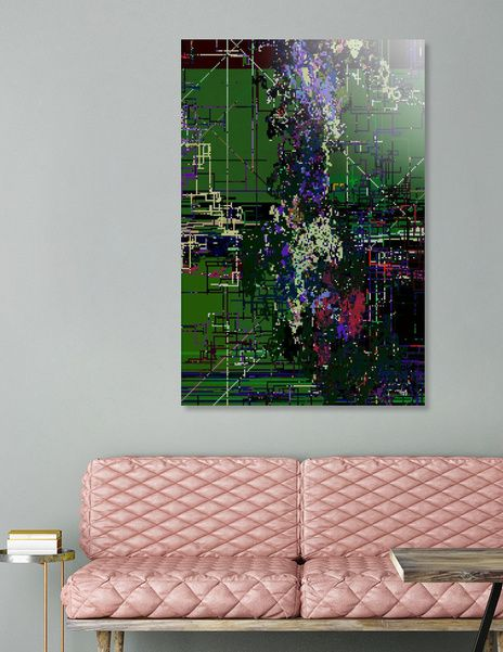 Discover «8 bit fool», Numbered Edition Aluminum Print by vividvivi - From $59 - Curioos