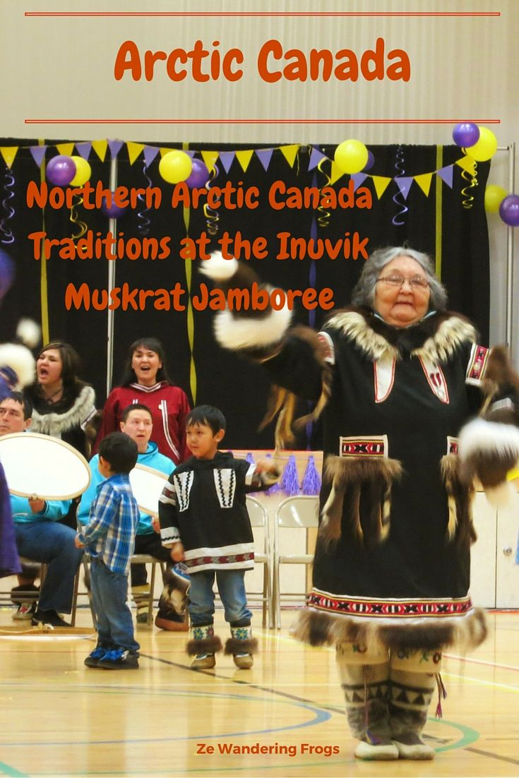 Northern Arctic Canada Traditions at the Inuvik Muskrat Jamboree // Part of the reasons we traveled to Inuvik end of March was to attend the Muskrat Jamboree. Communities from around Inuvik and the wider Beaufort Delta area gathered to participate to the yearly event which lasted four days and featured traditions from the Northern Arctic region.