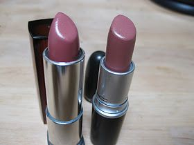 MAC Modesty/ Maybelline Warm Me Up (close dupe)