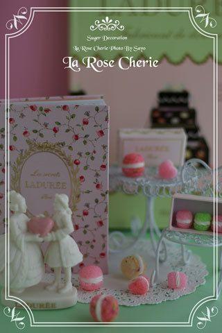 デコレーション教室 La Rose Cherie(ラ・ローズ・シェリー) -ラデュレな世界 マカロンの角砂糖