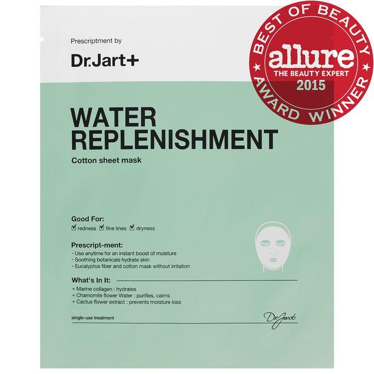 Water Replenishment Cotton Sheet Mask - Dr. Jart+ | Sephora