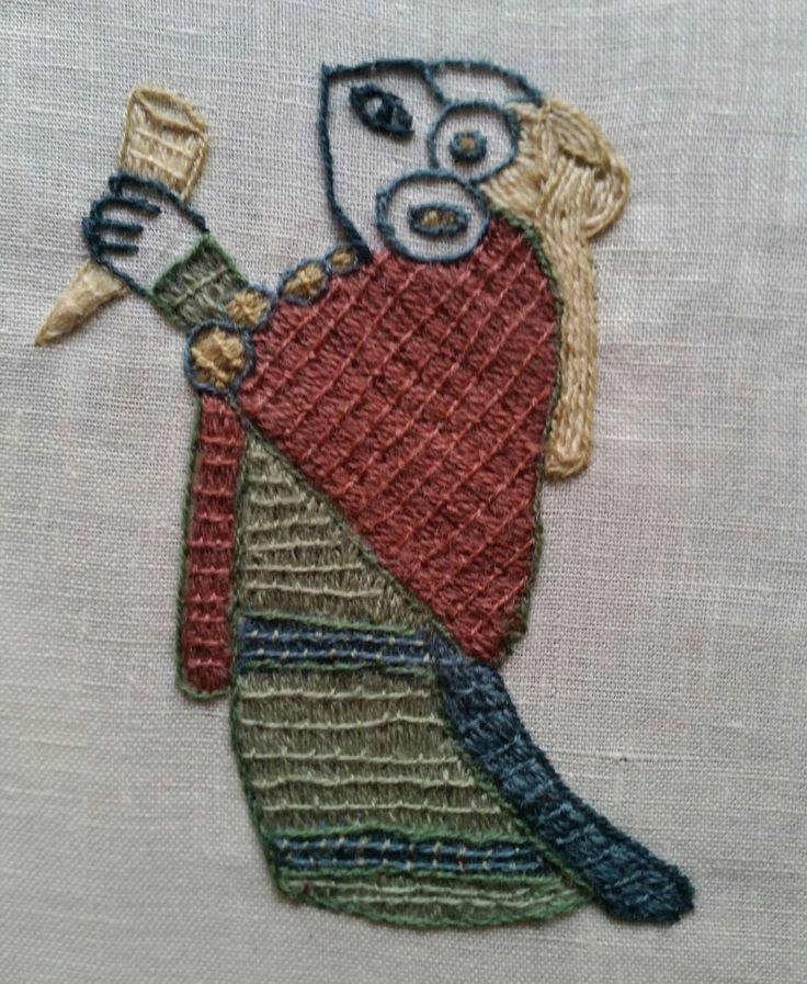 Bästa viking embroidery idéerna på pinterest