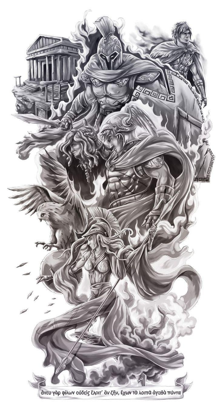 Imagem relacionada | angels | Tattoos, Mythology tattoos e ...