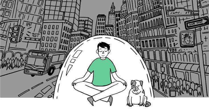 Cool meditation app -- for teens!