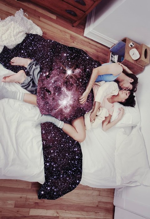 Letterlijk slapen onder het sterrenstelsel - SheNerd