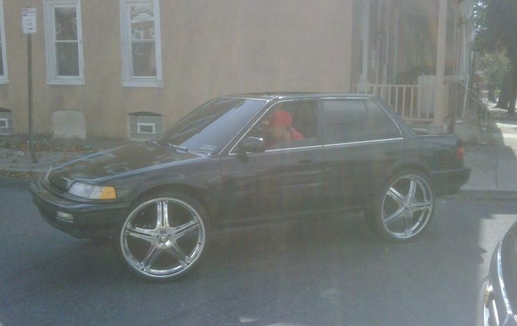 "Honda Civic Sedan 20"" or 22"" Rims Donk Modified"