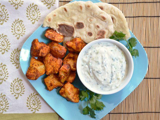 Budget Bytes: tandoori chicken bites $7.48 recipe / $1.50 serving