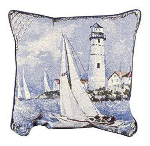 Decorative Throw Pillows – Nautical Throw Pillows Decorative nautical throw pillows allow you to revive and breathe new life into your home. They provide you with a means of adding a bit of color and comfort to complement a couch or chair