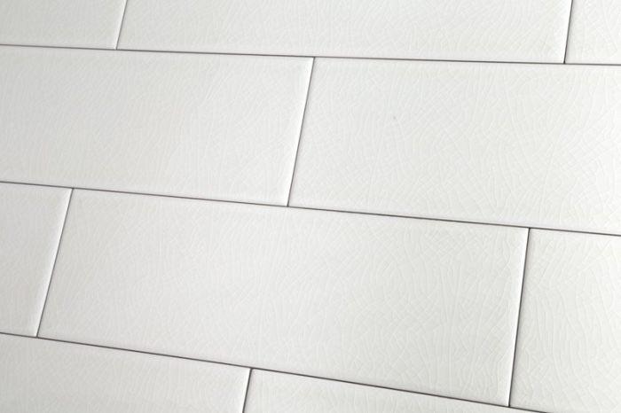 Crackle Glaze White Chapel Xl Wall Tile 10x30cm Crackle Glaze Wall Tiles White Tile Bathroom Walls