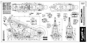 old school rigid chopper frame plans