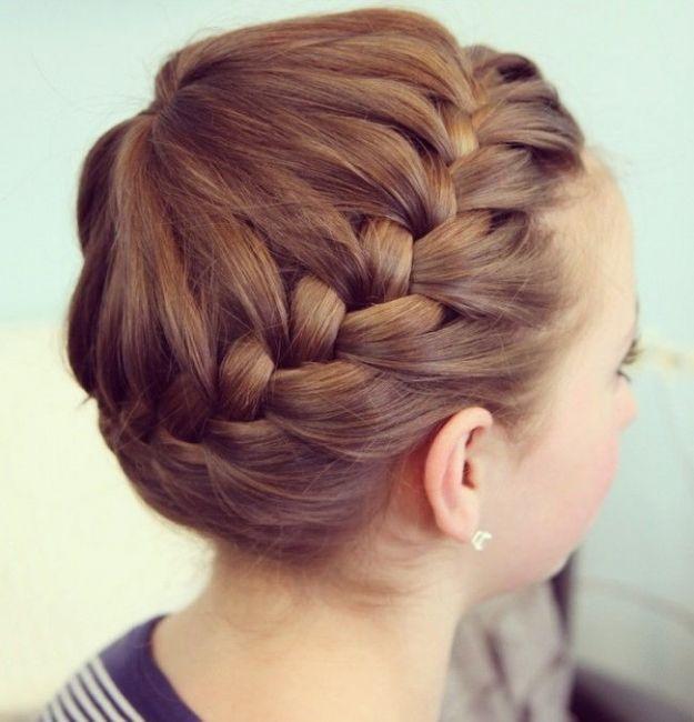 """Коса вокруг головы """"Корона"""" ::: onelady.ru ::: #hair #hairs #hairstyle #hairstyles"""