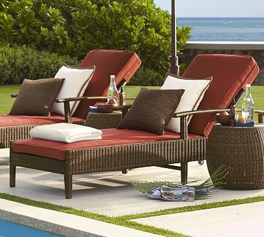 13 best chaise images on pinterest chaise lounge chairs for Belmont brown wicker patio chaise lounge