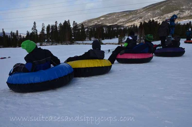 Family Tubing at Keystone Nordic Center