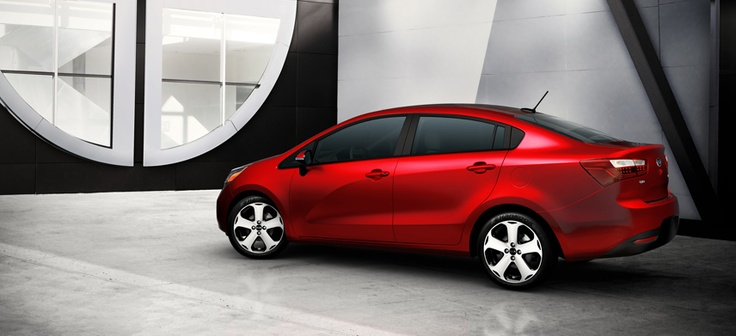 The 2012 Rio achieves a standard class-leading* fuel economy rating of 30/40 mpg (city/highway). * Class-leading fuel economy claims for highway based on comparisons to 2011 and available 2012 competitors as of October 2011. EPA fuel economy estimates 30 mpg/city and 40 mpg/hwy for 2012 Rio sedan. Actual mileage may vary.